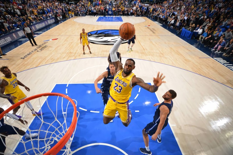 Los Angeles Lakers Defeat In Overtime With James Davis