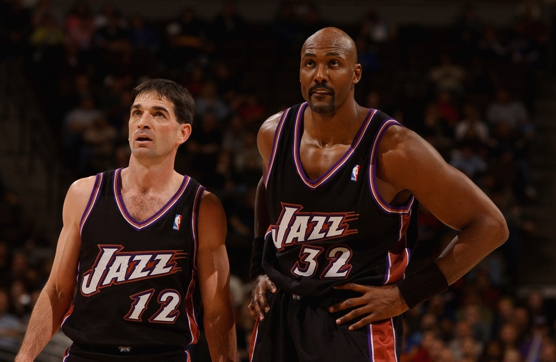 1d7083883 NBA Dynamic Duos The Mailman and Stock  Karl Malone   John Stockton