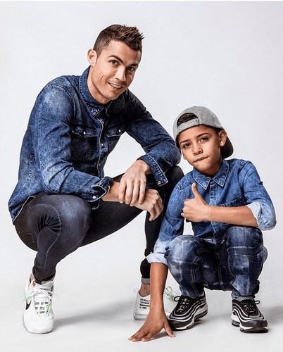 Like Father Like Son Cristiano Ronaldo Jr Started Training With Juve U 9 Team Agorkhaliz On Scorum