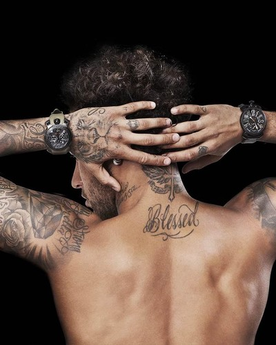 Neymar\'s tattoos and their meanings — betmus on Scorum