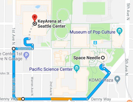 Key Arena Seattle Map.Everything We Know About The Seattle Storm S 2018 Wnba Championship