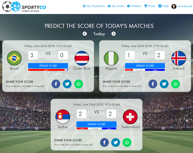 FIFA WorldCup 2018, My Predictions For June 22nd Matches
