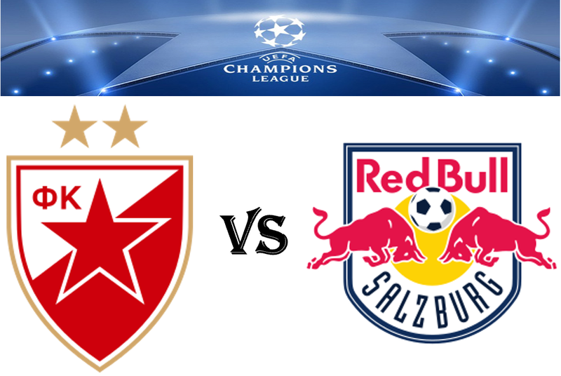 Champions League Red Star Vs Rb Salzburg 21 08 2018
