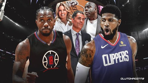 The Clippers Form A New Big 2 Ahead Of The 2019 2020 Season Kawhi
