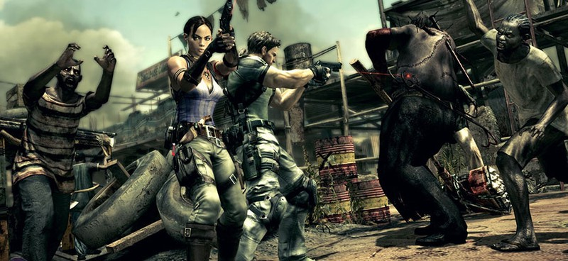 Resident Evil 5 Is The Best Local Coop Game Of The Series