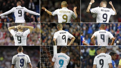 hot sale online 0299c 0c659 The longest, most used and goalscorer '9' in Real Madrid ...
