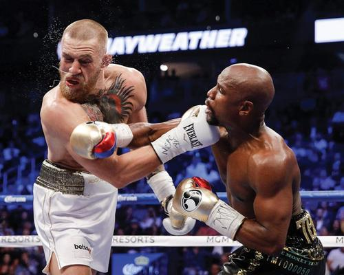 The masterful defense of Floyd mayweather — liuke96player on