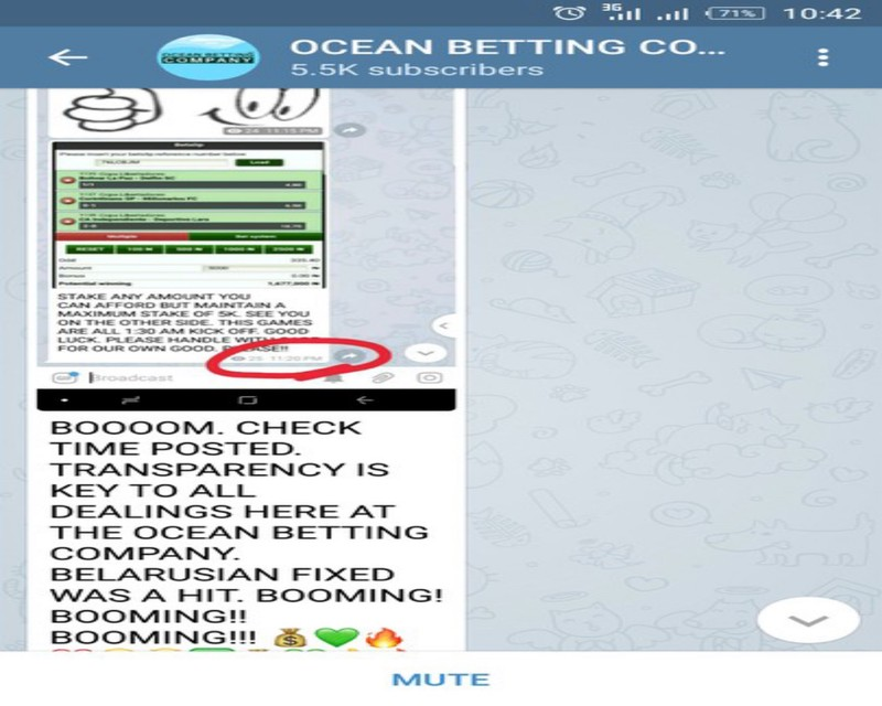 The best: free fixed matches telegram channels