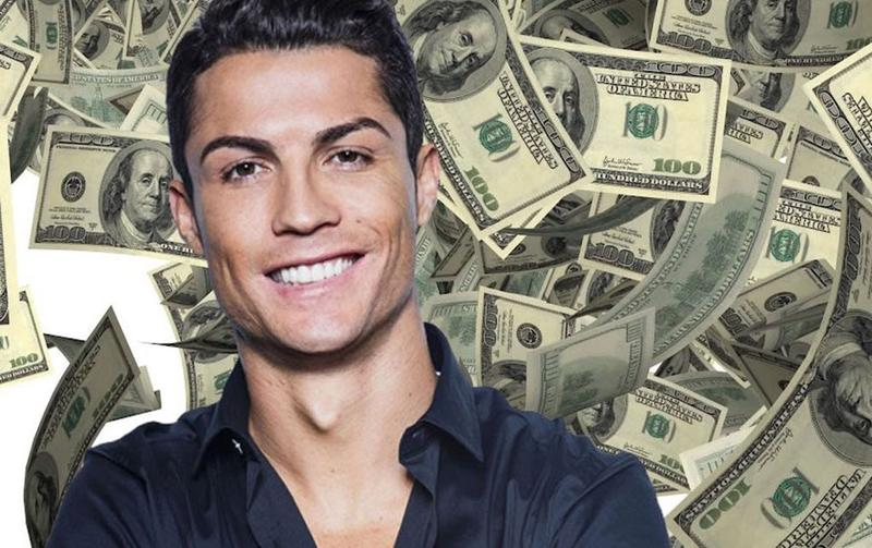 Image result for Ronaldo money